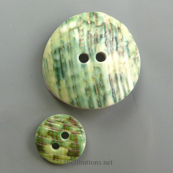 great green turban shell buttons wholesale