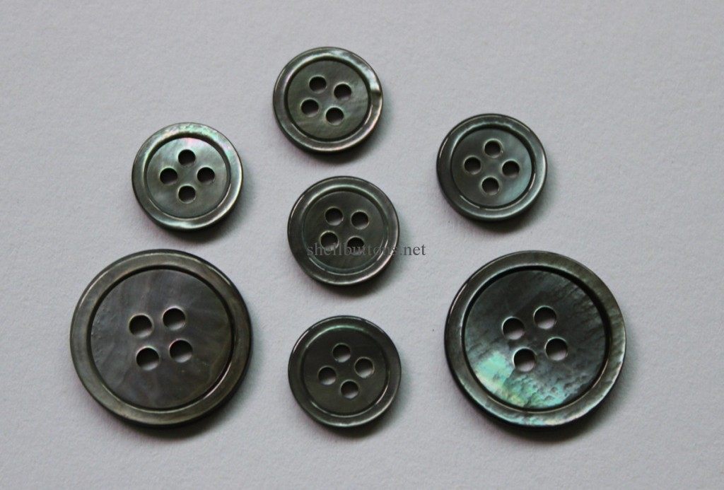 black mother of pearl suit buttons wholesale