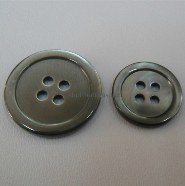 smoked mother of pearl buttons wholesale