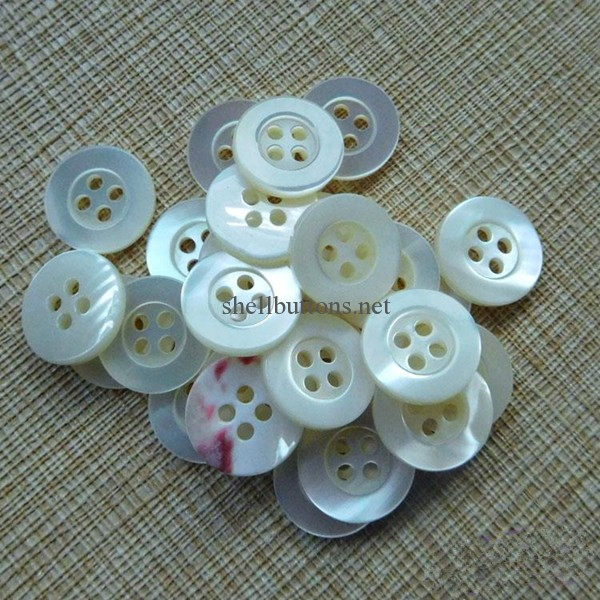 trochus shell buttons wholesale