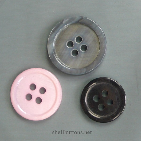 pink mother of pearl buttons bulk