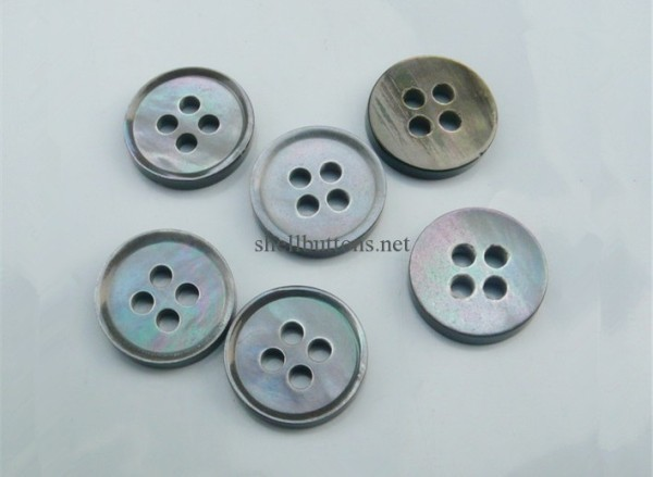 grey gray mother of pearl buttons wholesale