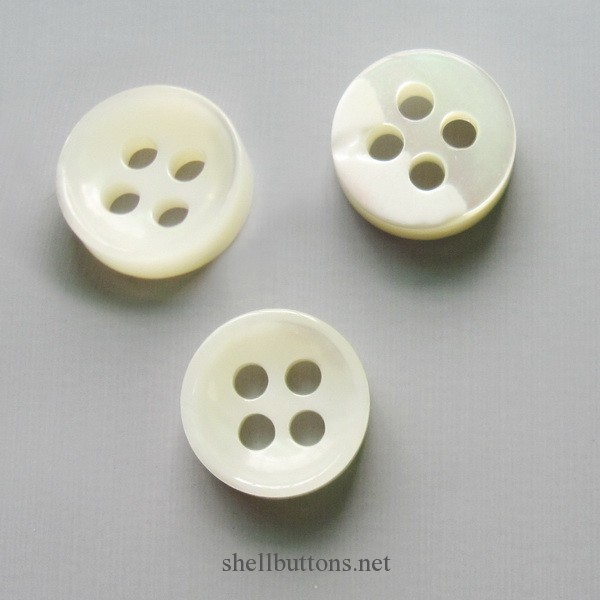 polishing mother of pearl buttons bulk