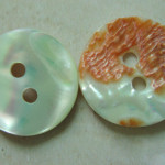 square abalone shell buttons wholesale