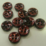 brown penguin shell buttons wholesale