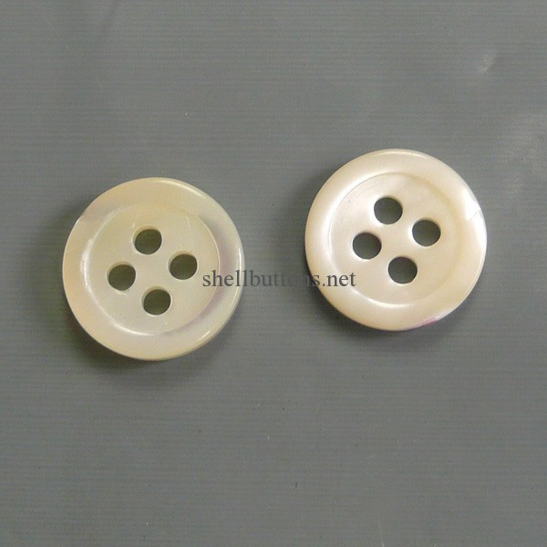 Real shell buttons for shirts wholesale