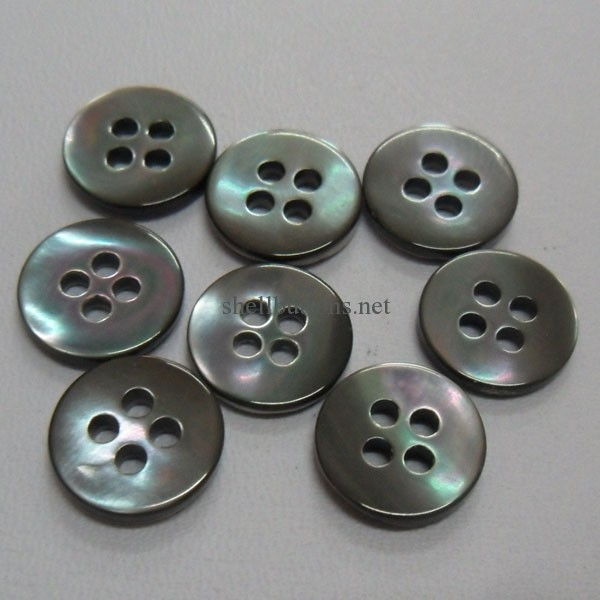 trocas shell buttons smoke color wholesale