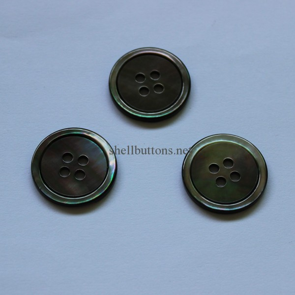 hot sell black MOP suit buttons wholesale