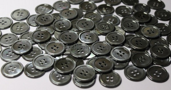 grey mother of pearl suit buttons wholesale