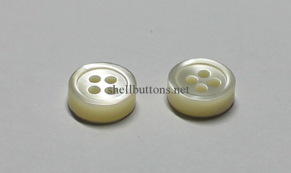 4mm thick trocas shell buttons wholesale