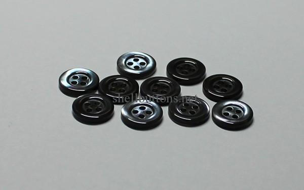 smoke trocas shell buttons grey trocas buttons