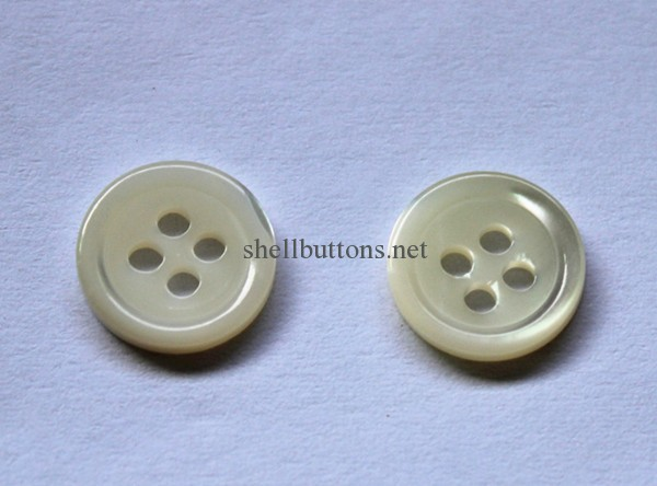 SB121803 clean back trocas shell buttons