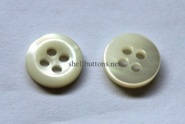 clean back trocas shell buttons with R-side