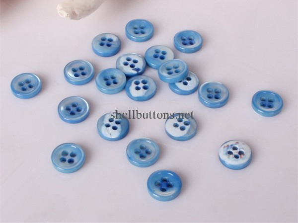 colored trocas shell buttons wholesale