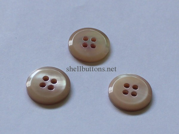 pink colored trocas shell buttons wholesale