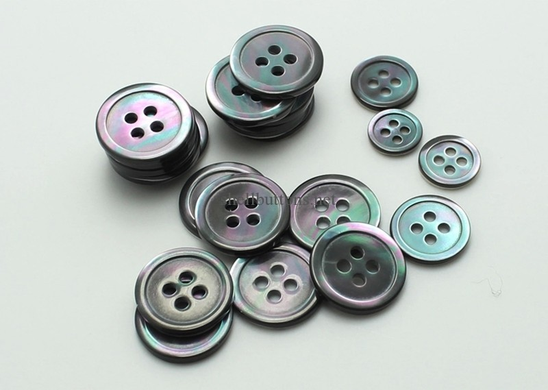 Smoke Trocas Shell Buttons for suits blazers