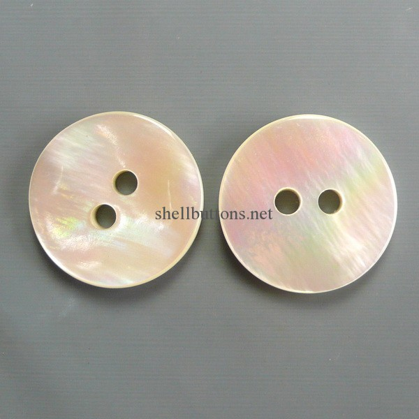 rainbow color river shell buttons wholesale