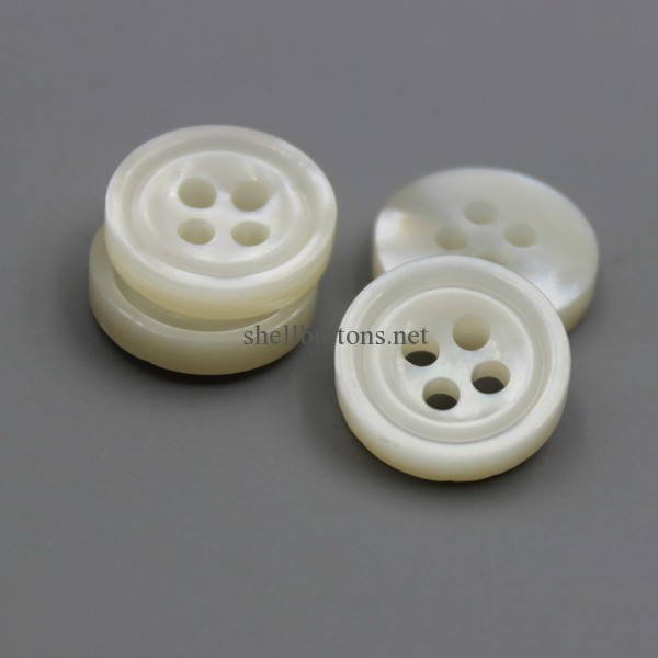 carved MOP shell buttons carving white mother of pearl buttons