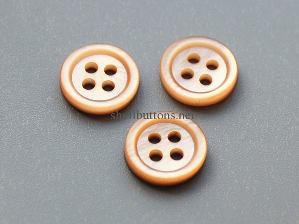 pink shell button pink mother of pearl buttons