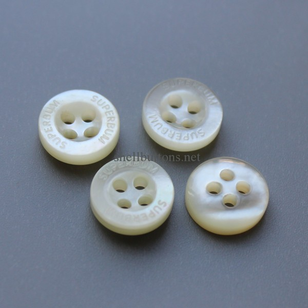mother of pearl buttons for shirts