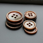 4 hole brown mop buttons brown shell buttons wholesale