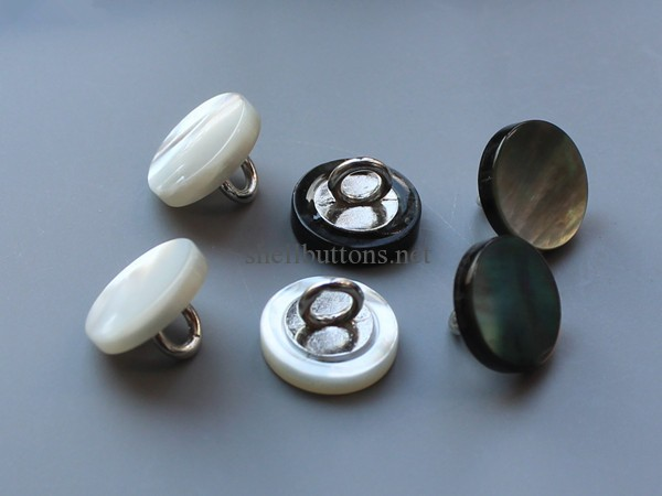 mother of pearl buttons MOP buttons with shank