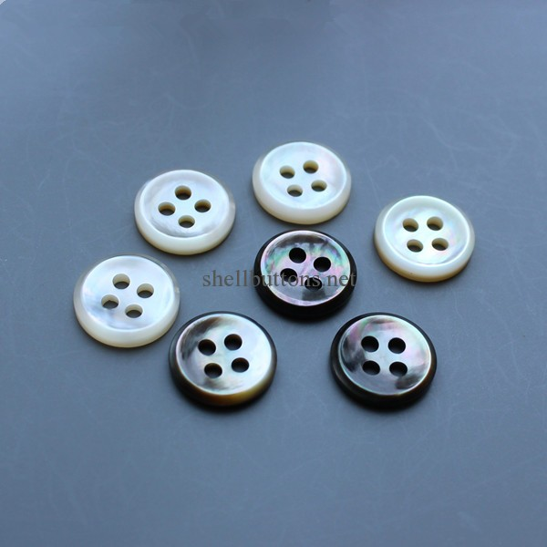 mother of pearl buttons for dress shirt