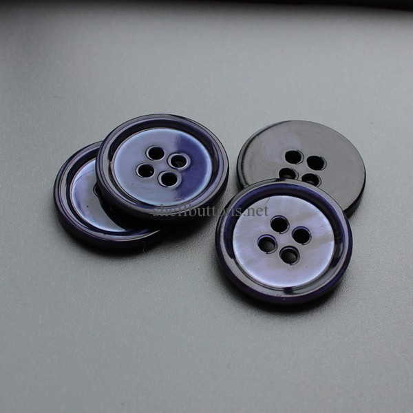 blue mother of pearl buttons wholesale