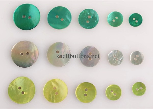 colored akoya shell buttons agoya shell buttons