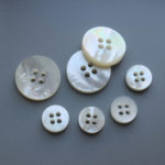 4 holes plane white shell buttons wholesale