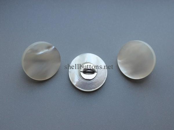 shell shank buttons white mop shank buttons