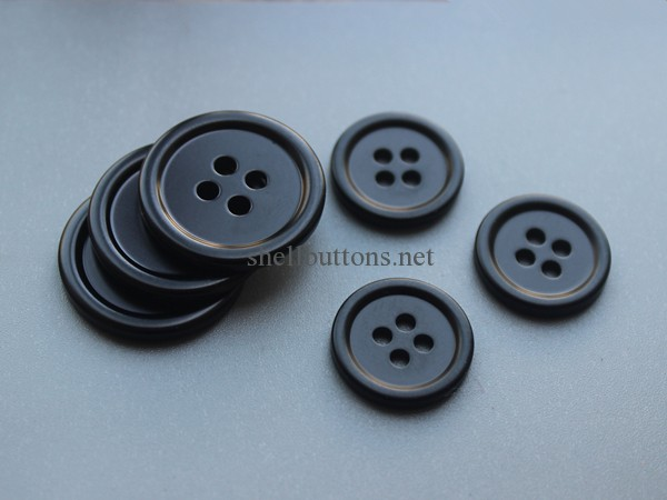 MOP dyed buttons for coats and shirts