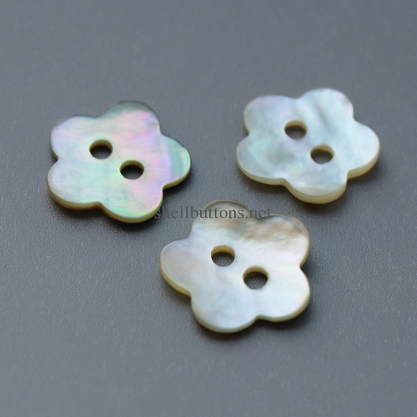 flower shape shell buttons wholesale