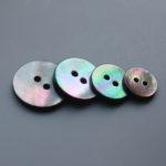 13mm 15mm 18mm 20mm black mop shell buttons