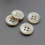 custom branded shell buttons wholesale