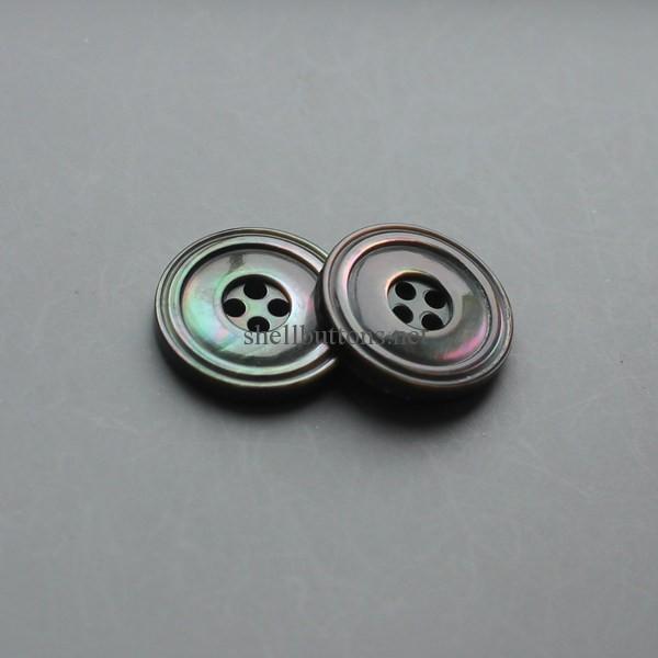 black MOP buttons wholesale