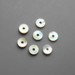 one hole agoya shell buttons wholesale