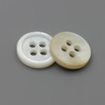 white mother of pearl buttons 5/8 inch