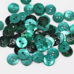 green shell buttons wholesale