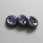 dark blue dyed mother of pearl shell buttons
