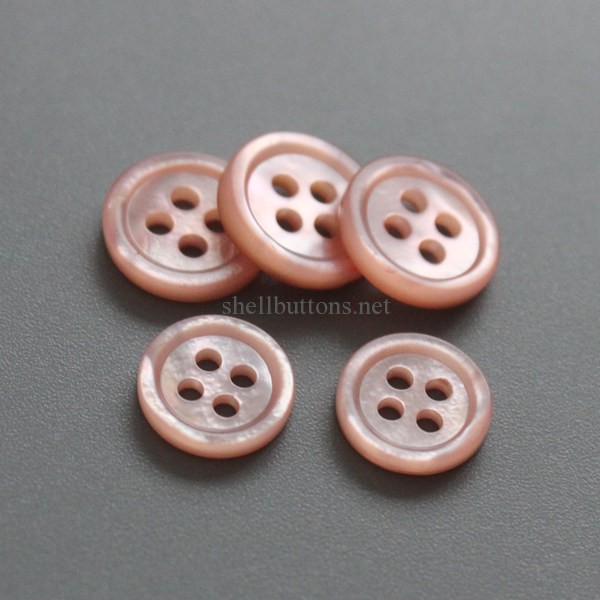 pink mother of pearl buttons wholesale