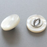YaHoGa® Genuine White Mother of Pearl MOP Buttons With Shank